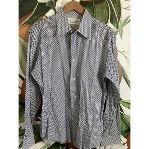 Maison Margiela   Button Front Long Sleeve Shirt